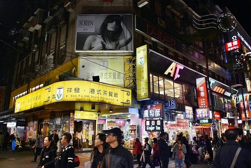 西門町漢中街