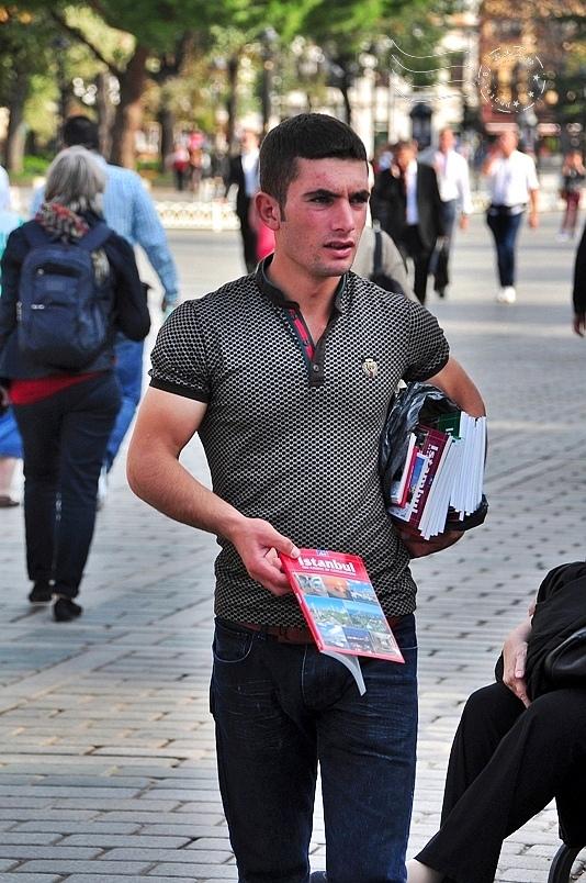 伊斯坦堡賽馬場小販