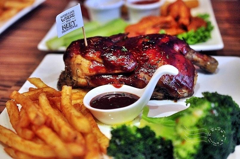 Hater Cafe:BBQ美式烤半雞