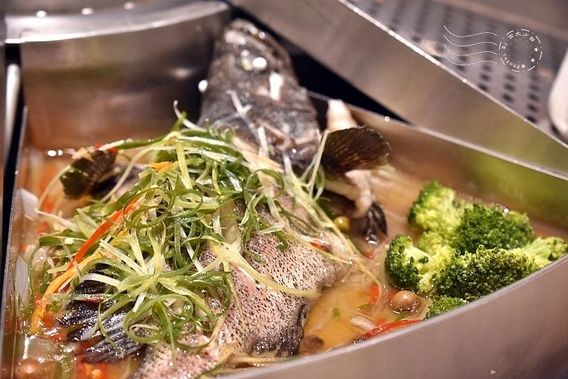 埔里四季蒸宴:石斑魚
