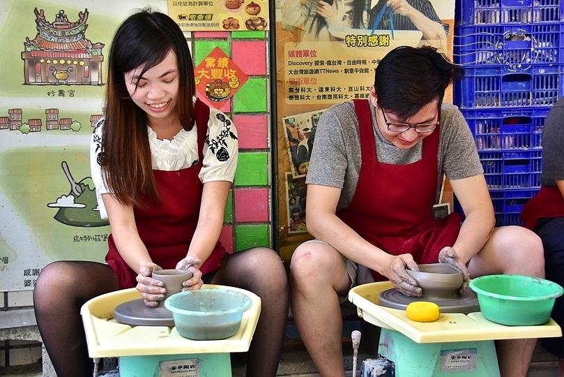 安平老街陶藝DIY