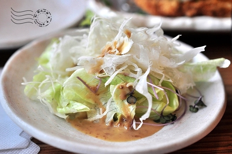 赤神日式豬排:生菜