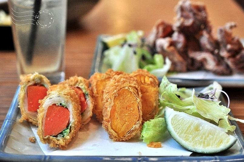 赤神日式豬排:雙時蔬捲