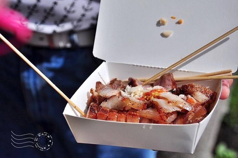 南庄老街烤豬肉