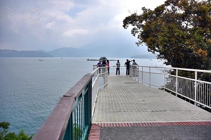 向山遊客中心眺望平台
