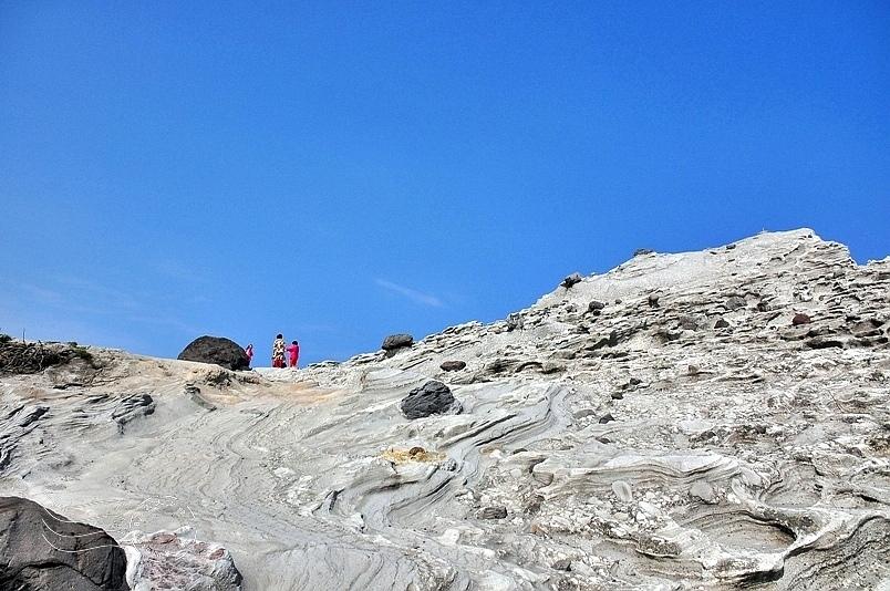 花蓮石梯坪風景區:單面山