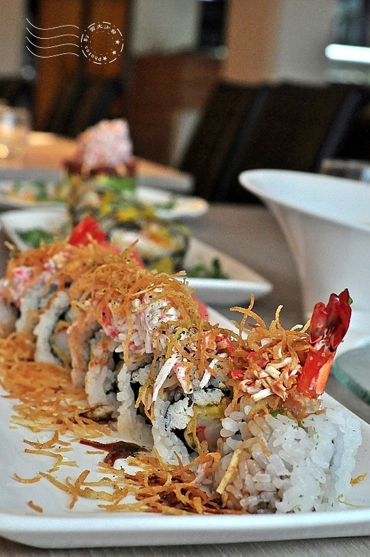 CA rolls'新美日式料理:拉斯維加斯卷