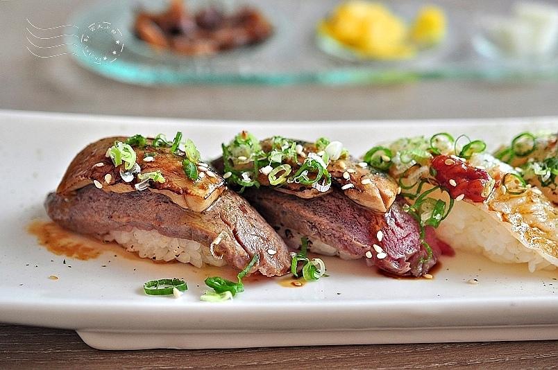 CA rolls'新美日式料理:炙燒鴨肝無骨牛小排握壽司