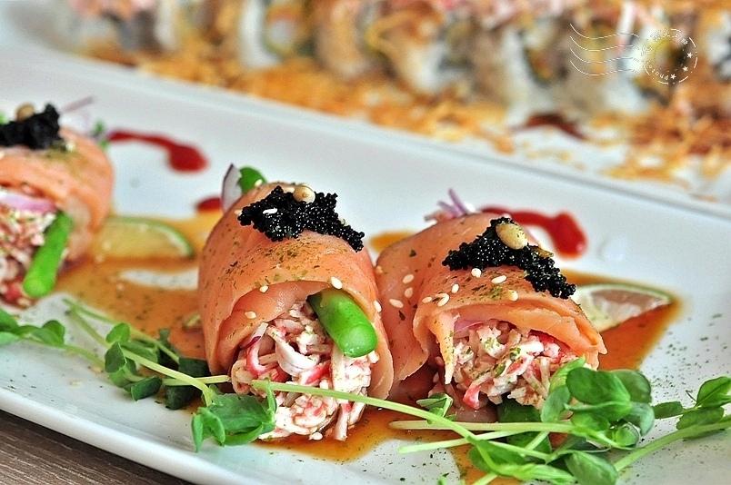 CA rolls'新美日式料理:蝴蝶之吻
