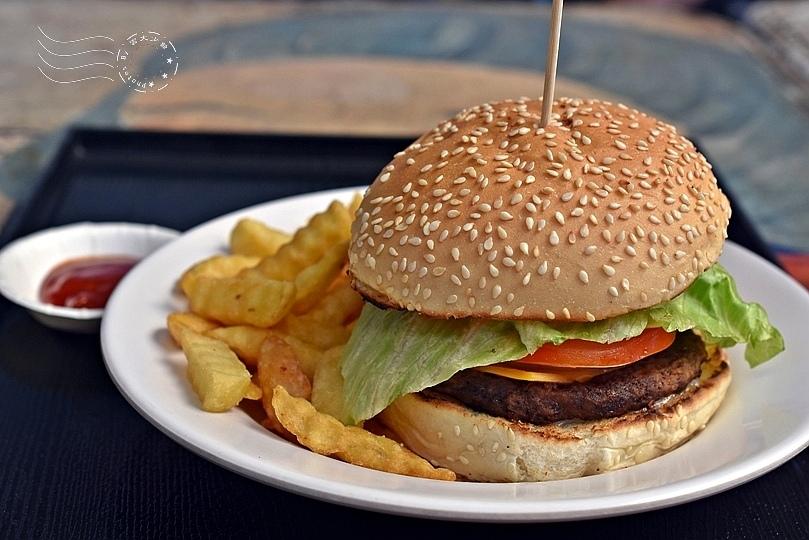 牛肉起司漢堡