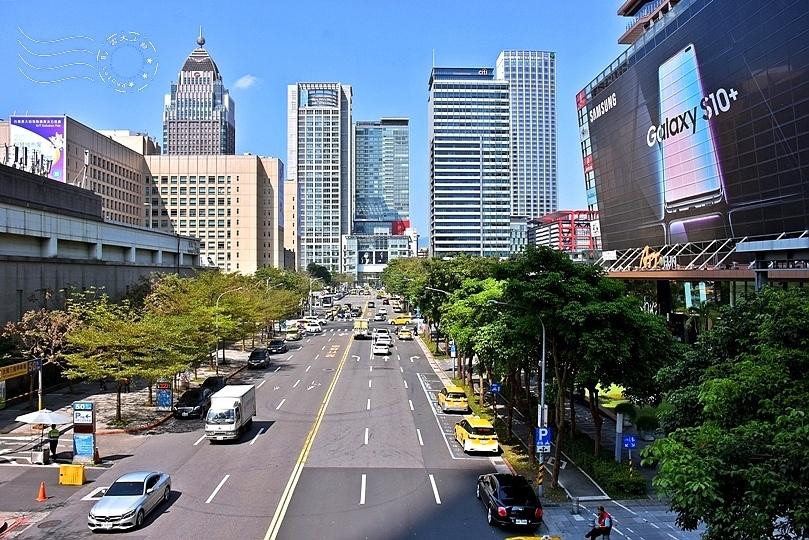 信義商圈街道