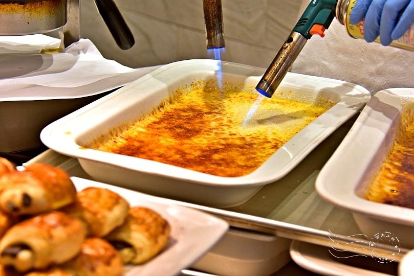 漢來海港餐廳敦化店:烤焦糖布丁