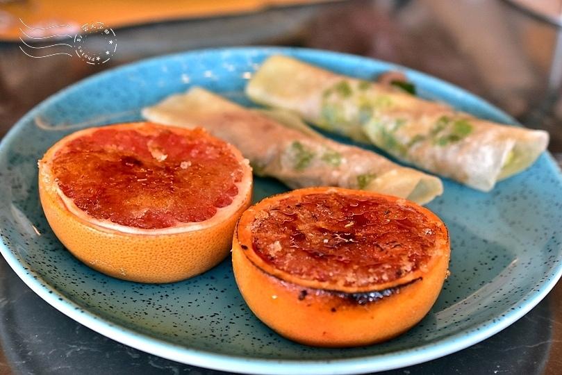 焦糖葡萄柚