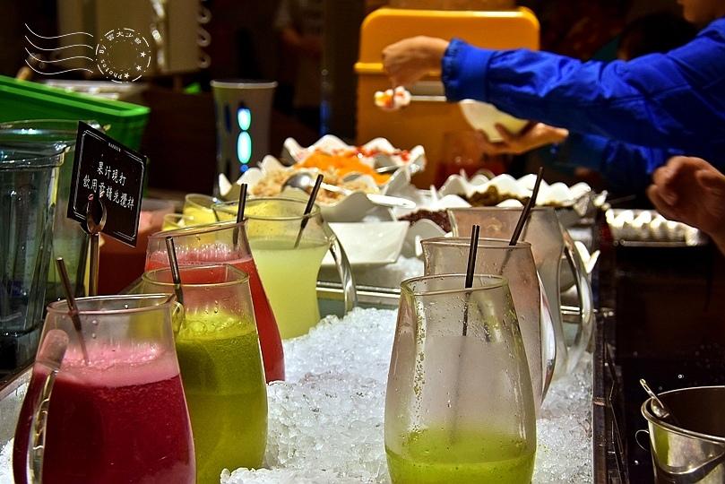 漢來海港餐廳敦化店:現打果汁