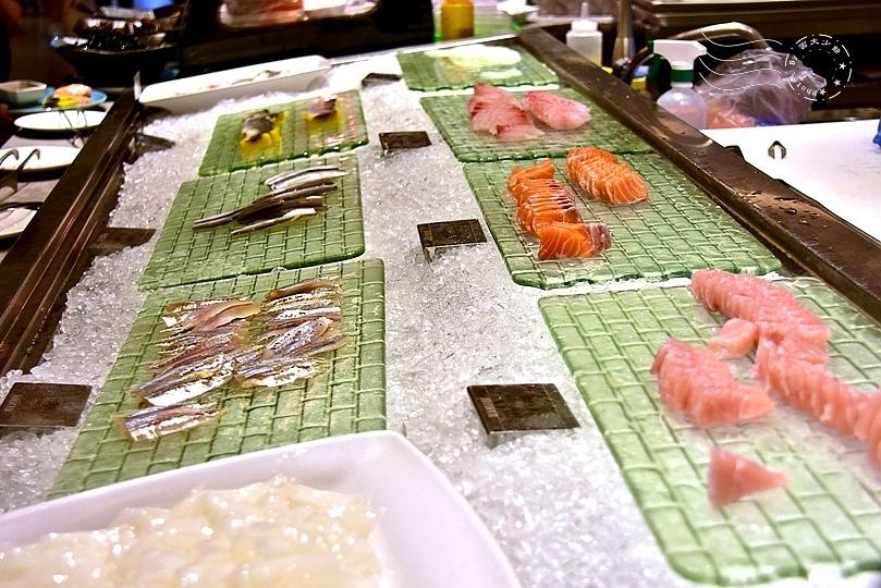 漢來海港餐廳敦化店:生魚片