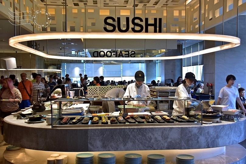 漢來海港餐廳敦化店:壽司區