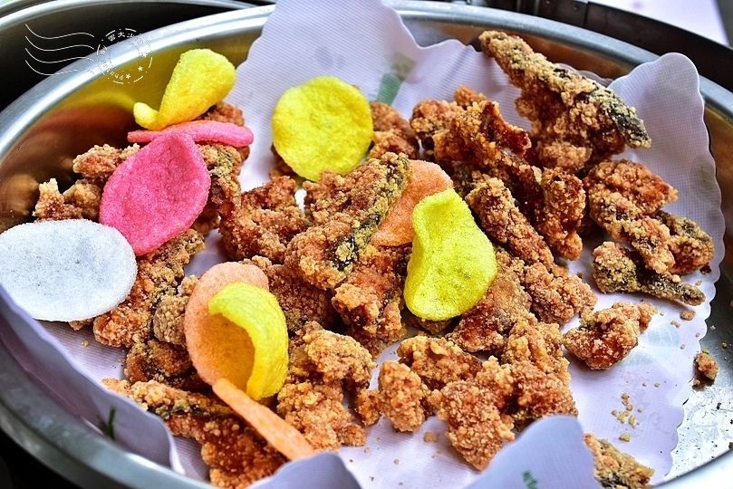 香草菲菲:避風糖深海魷魚
