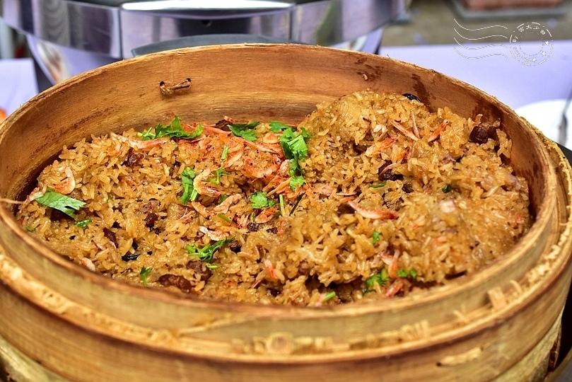 香草菲菲:櫻花蝦油飯