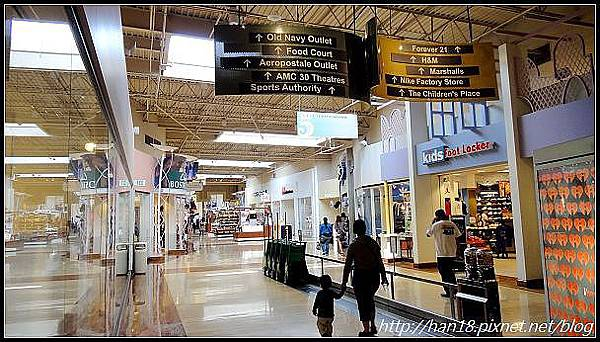 【美國】加州室內超好逛OUTLET~Ontario Mills (4)