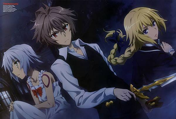 yande.re 418956 sample assassin_of_black_(fate_apocrypha) dress fate_apocrypha fate_stay_night hiroe_keisuke ruler_(fate_apocrypha) sieg_(fate_apocrypha) sword