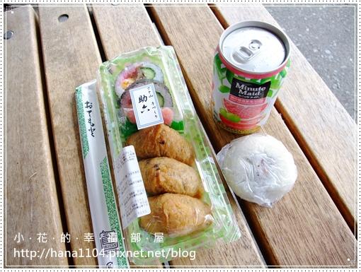 小城公園攤販*壽司&梅燒餅