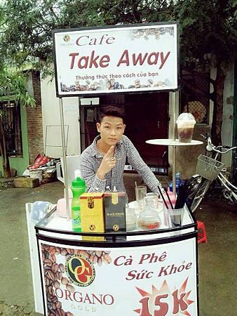 越南賣咖啡