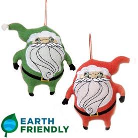 聖誕老公公掛飾,兩面設計