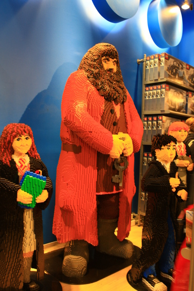 LEGO妙麗,海格,哈利波特,榮恩