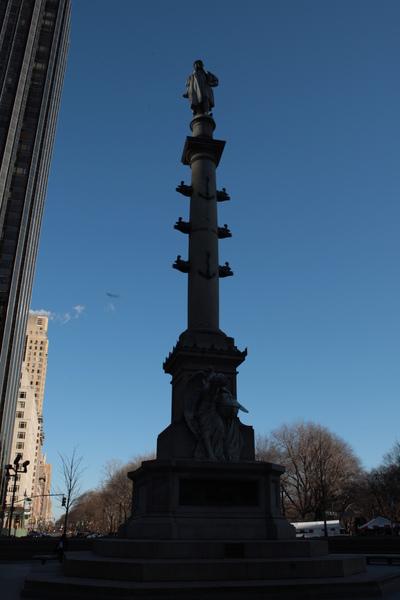 紐約中央公園西南方的入口處