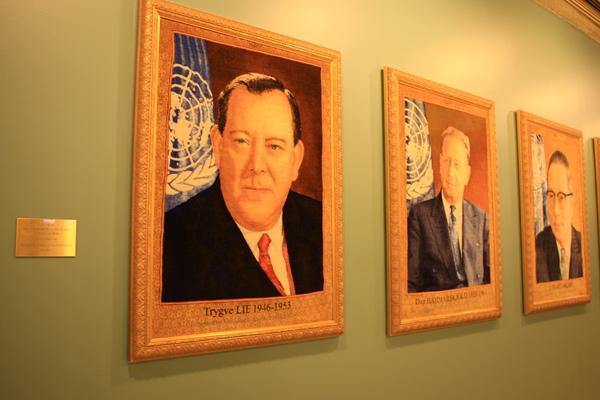 聯合國-伊朗送給聯合國的禮物
