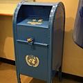 聯合國-郵局的郵筒,寄美國國內用