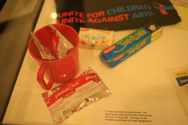 聯合國-給世界上飢餓小朋友的營養補充品
