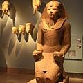 古埃及區-超大尊石像