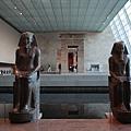 古埃及區-大型雕像陳列在薩克勒大廳內