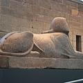 古埃及區-人面獅身石雕