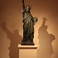 美術館內的自由女神像
