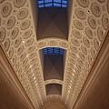 希臘區走廊的天花板