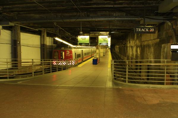 紐約中央車站月台