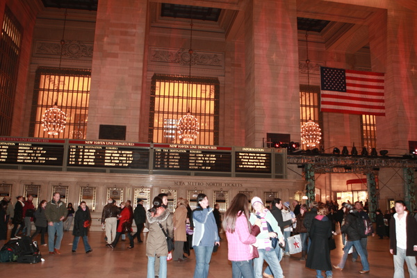 紐約中央車站大廳購票處