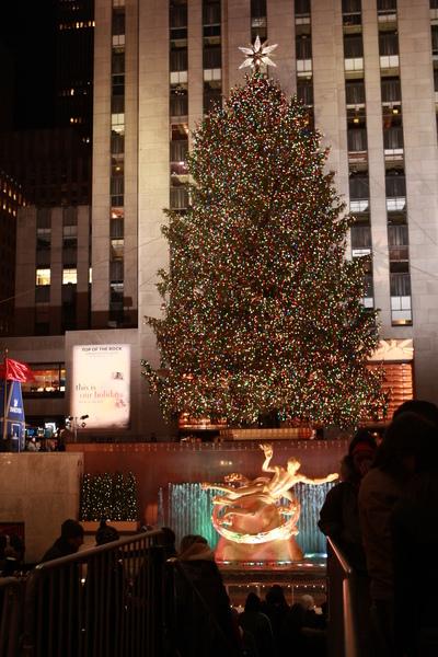 紐約洛克斐勒中心2008聖誕樹