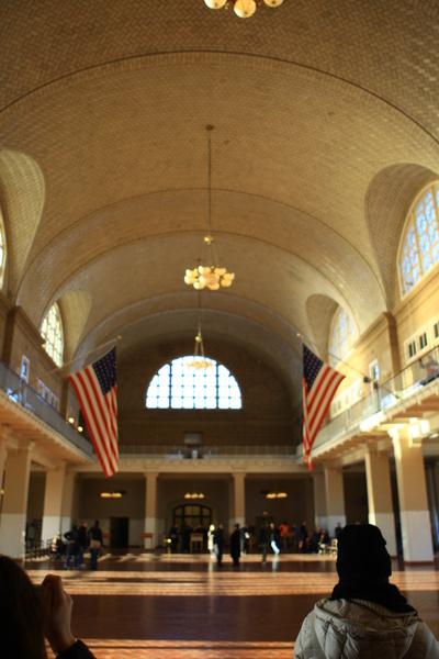 移民博物館二樓大廳1