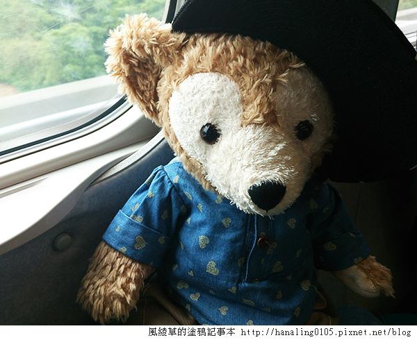 20140401回家去的高鐵上