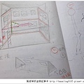 20151204 娃娃屋/玩具屋製作過程分享 設計圖02