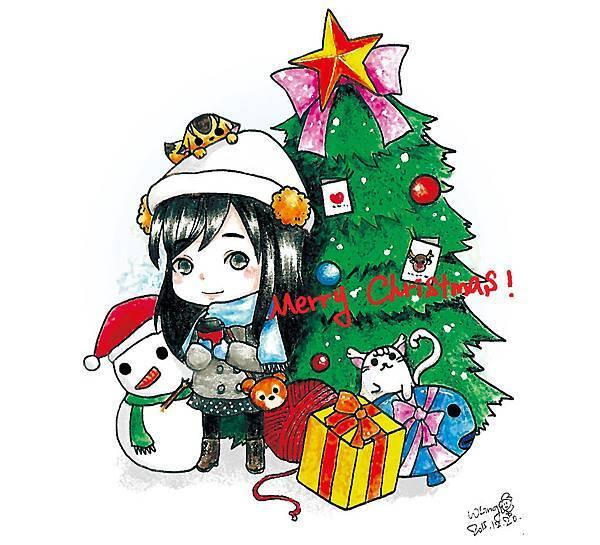 20151221聖誕X新年明信片