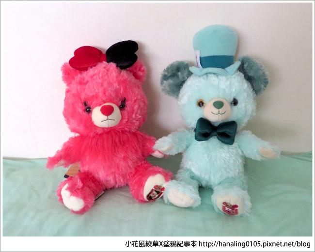 大學熊五週年愛麗絲系列-小紅莓與餅乾