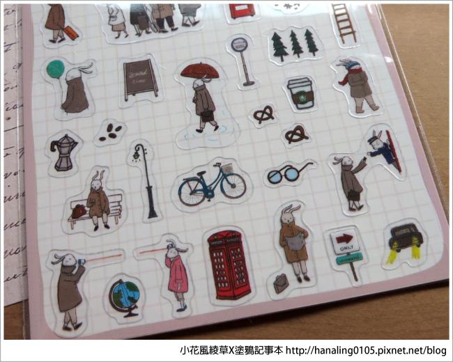旅人手帳貼紙開箱04