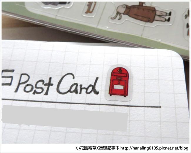 旅人手帳貼紙開箱06