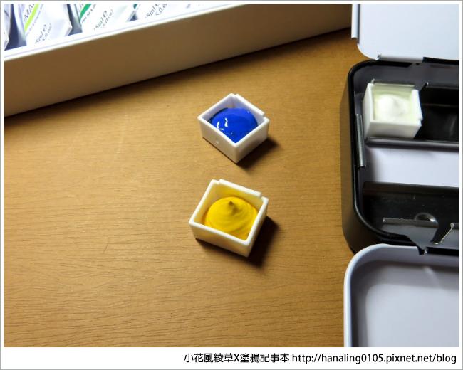 水彩小鐵盒開箱