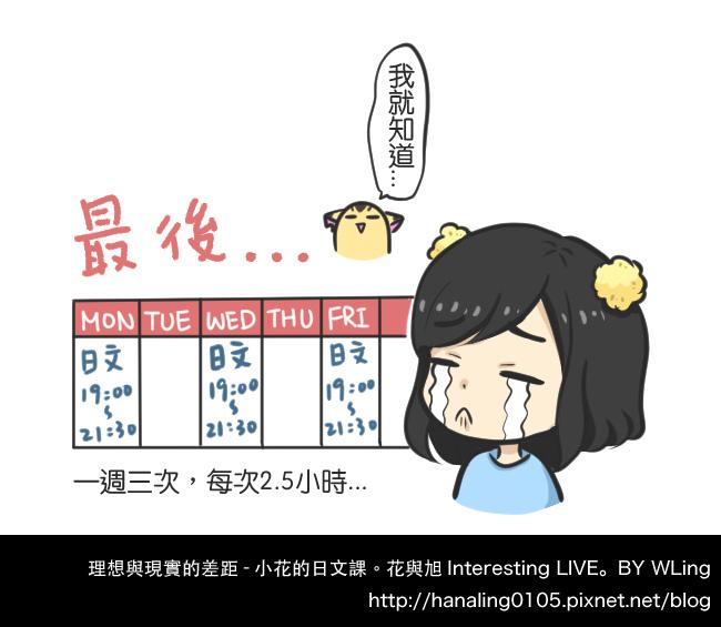 理想與現實的差距-小花的日文課08