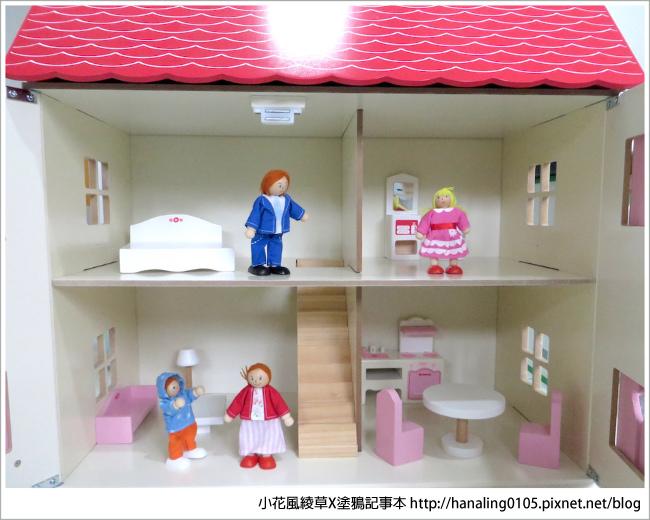 KCF木育家開心娃娃屋內部裝潢